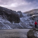 Coumshingaun Lake Winter