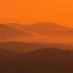 Knockmealdowns Sunset