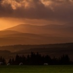 Sunset from the Nire